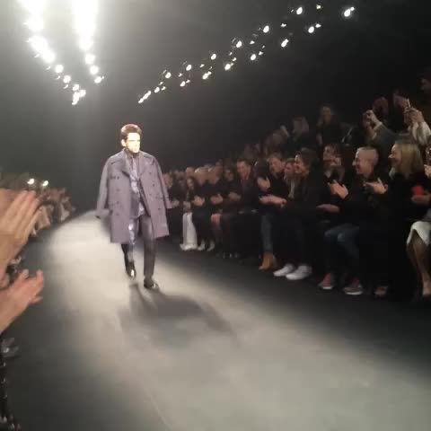 Zoolander walking the runway at Paris fashion week 2015. This is real life.