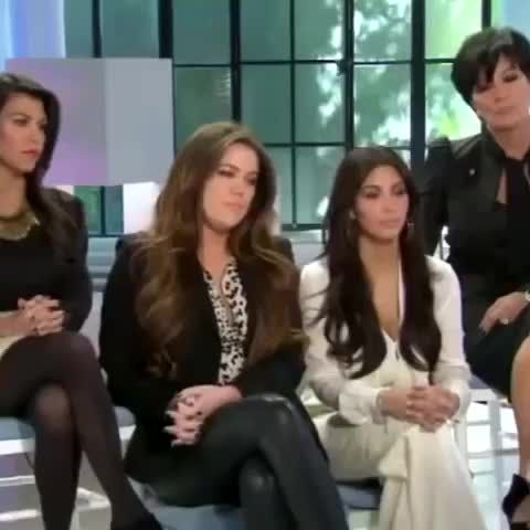 Kardashians getting dissed on TV by Barbara Walters