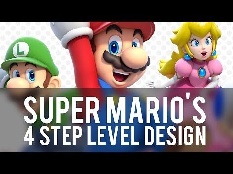 Game Maker's Toolkit - Super Mario 3D World's 4 Step Level Design