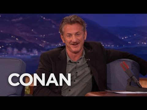 Sean Penn On His Oscars Green Card Joke  - CONAN on TBS