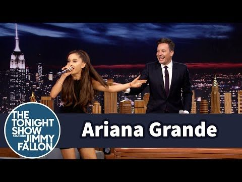 Ariana Grande Does a Spot-On Celine Dion Impression