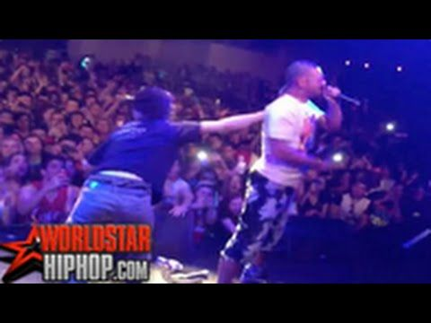 Don't Run Up On RiFF RAFF's Stage At A Concert! @BurlyBoyKane on the tackle