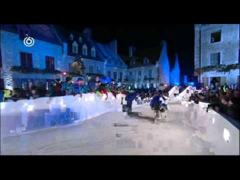 Red Bull Crashed Ice goalies ride
