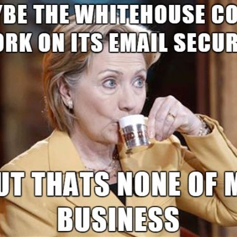 The real winner in the Whitehouse email hack.