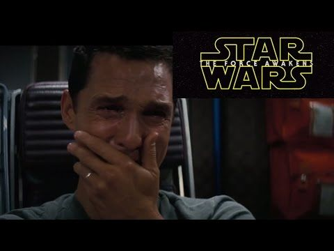 Matthew Mcconaughey's reaction to Star Wars teaser #2 - Celebrity reactions