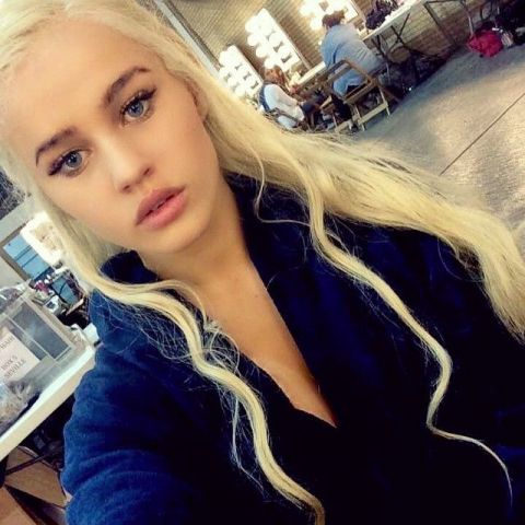 Daenerys' body double on Game of Thrones