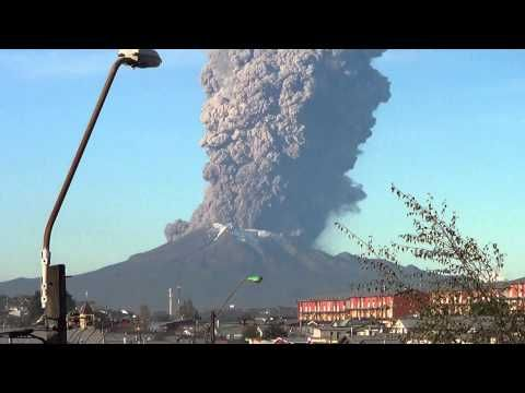 Eruption of Calbuco Volcano in Chile