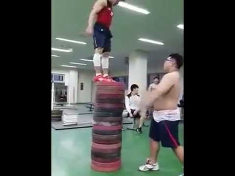 These Asian Guys Can Get Up.
