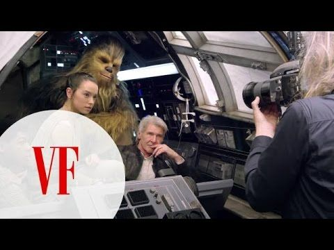 Watch the Star Wars Cast on Set for Vanity Fair's Cover Shoot