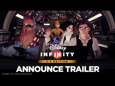 Announcement Trailer – Disney Infinity 3.0 Edition
