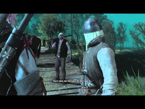 These drowners really wanted to be in a cutscene (Witcher 3)
