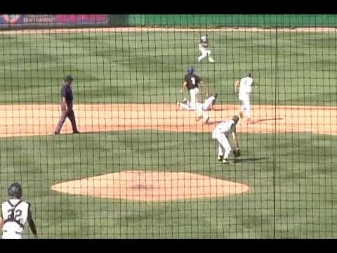 Amazing hidden ball trick - Baseball