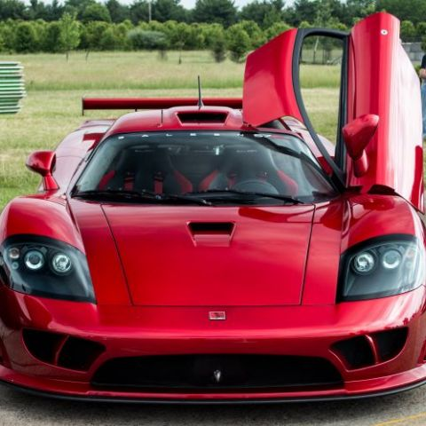 Saleen S7 Twin Turbo Competition - 1 of only 2, apparently.