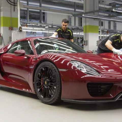This is the last 918 ever built