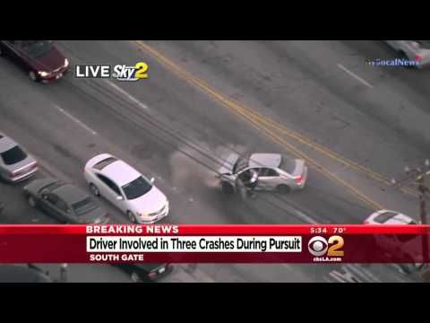 California High Speed Police Chase