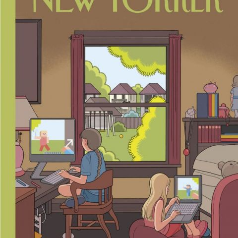 This week's New Yorker cover is pretty spot on