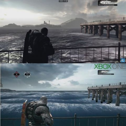 Gears of War 360 vs Xbox One remake. What the hell happened?!