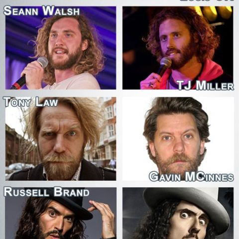 UK/US comedian look-alikes