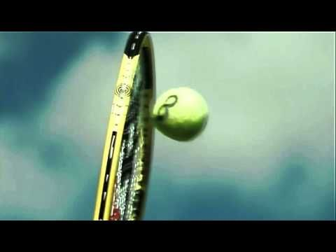 142mph Serve - Racquet hits the ball 6000fps Super slow motion (from Olympus IMS)