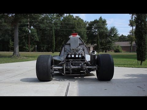 Go Kart powered by KZ650 motorcycle engine