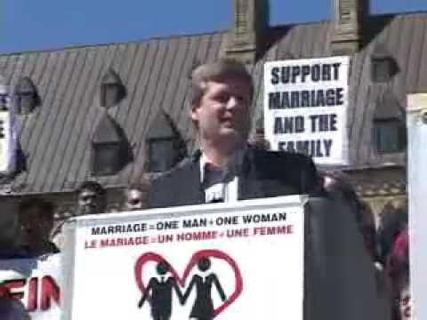 Stephen Harper Gay Marriage