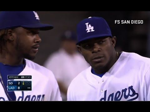 Dodgers Commit 3 Errors on One Play vs Padres