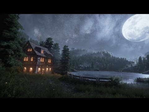 Creating a quick Unreal Engine 4 Night/Lake Scene