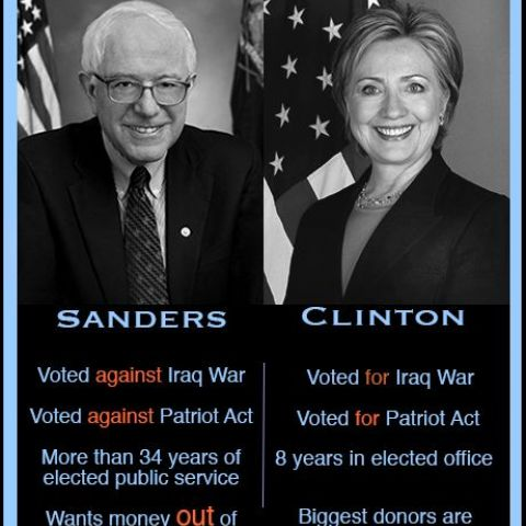 Sanders vs. Clinton
