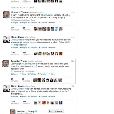Donald Trump got in a Twitter argument with a Modern ...