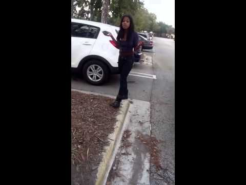 BoyFriend Catches GirlFriend Cheating Outside The