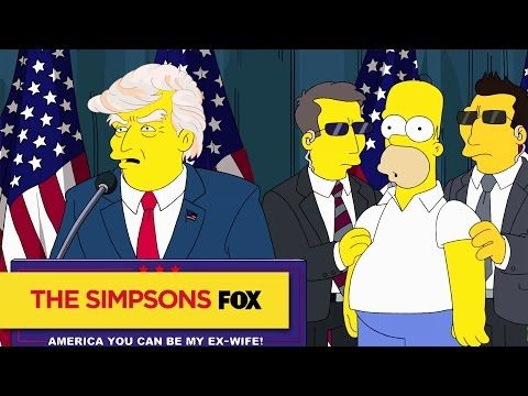 THE SIMPSONS | Trumptastic Voyage