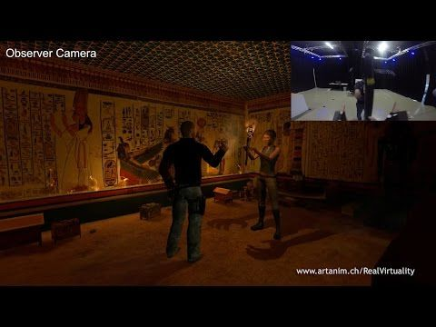 Real Virtuality - Siggraph 2015 Immersive Realities finalist - Gameplay footage