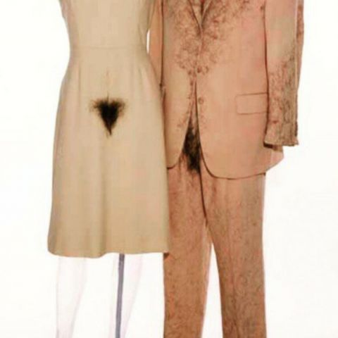Matching pubic hair formal wear