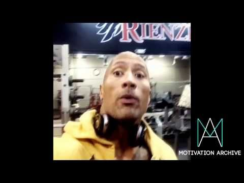 The Rock No excuses gym motivation Compilation