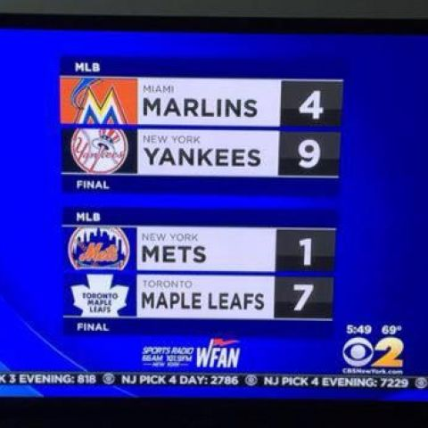 Just when you think the Mets are good again they lose to a fucking hockey team