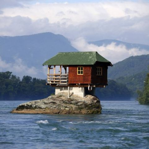 When you want a house on your own private island, but you have a very low budget.