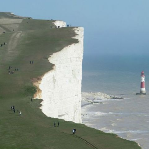 On the Seven Sisters cliffs