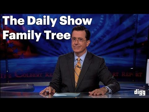 The 'Daily Show' Family Tree