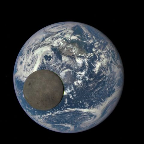 Far Side of the Moon - Taken by the DSCOVR satellite