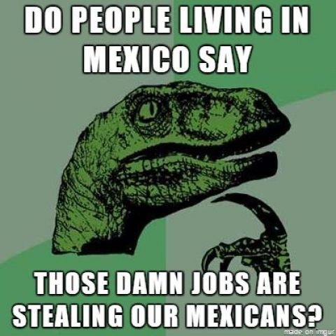 Do people living in Mexico say...