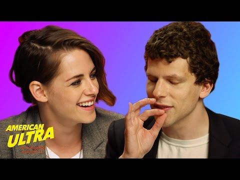 Kristen Stewart And Jesse Eisenberg Talk About Weed And Things Get Weird