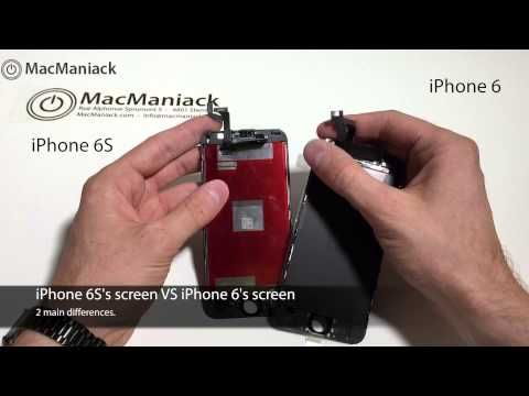 iPhone 6s screen leaked exclusive on video! Reviewed and Unboxing / MacManiack.com