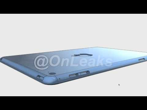 iPad Mini 4 3D CAD leaked by @OnLeaks