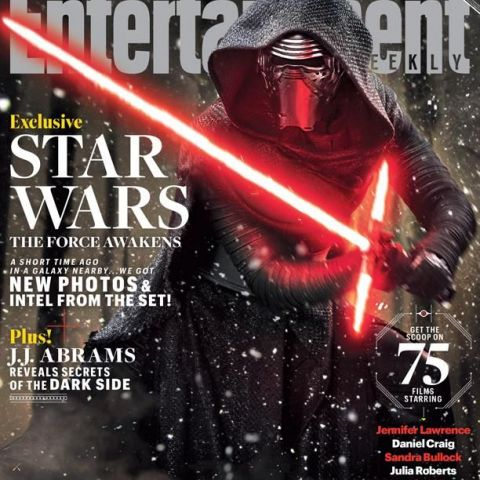 New Star Wars: The Force Awakens Entertainment Weekly Cover