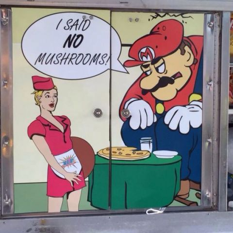 I said no mushrooms.