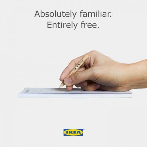 I have a feeling that marketing people at IKEA really love to laugh at Apple.
