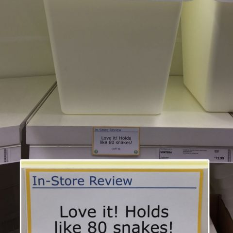 In-Store Ikea Reviews