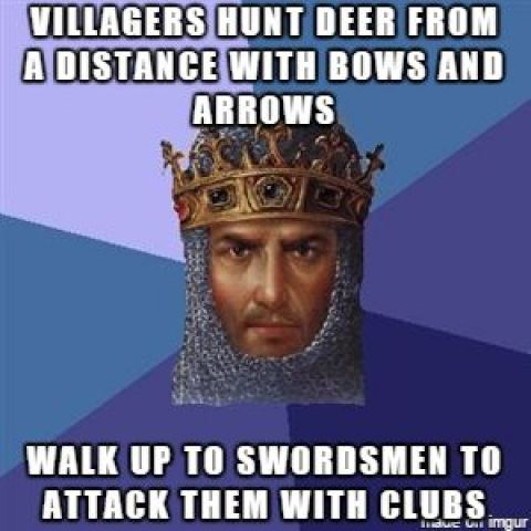 Age of Empires II logic