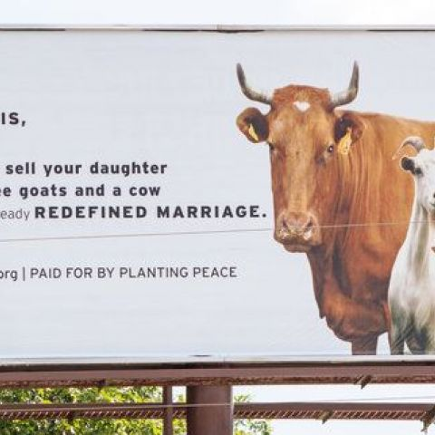 This billboard just went up in Kim Davis' home town.