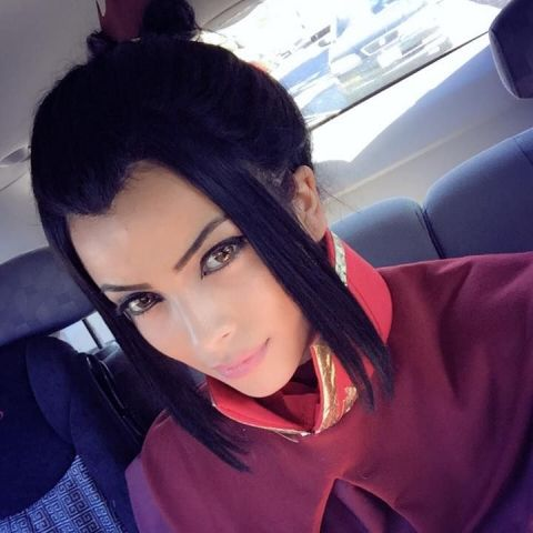 Princess Azula cosplay
